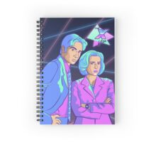 X-Files 80s Style Spiral Notebook