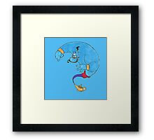 Never Had A Friend Like Me Framed Print