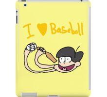 Jyushi and baseball iPad Case/Skin