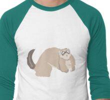 Slinky Catsnake Men's Baseball ¾ T-Shirt