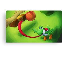 Get That Apple! Canvas Print