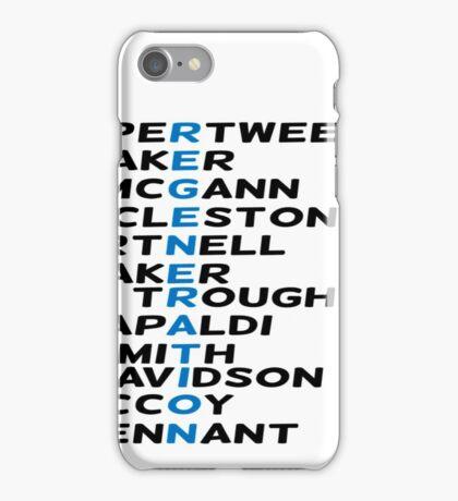 Doctor Who Regeneration iPhone Case/Skin