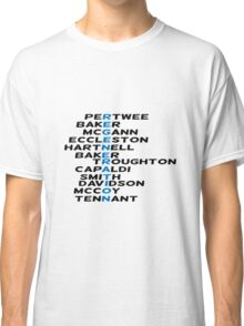 Doctor Who Regeneration Classic T-Shirt