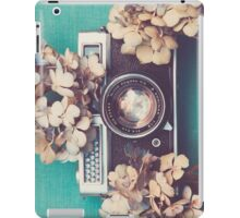 Camera & Hydrangea iPad Case/Skin