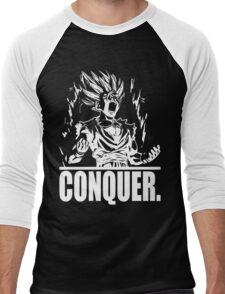 CONQUER (Teen Gohan) Men's Baseball ¾ T-Shirt