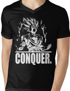 CONQUER (Teen Gohan) Mens V-Neck T-Shirt