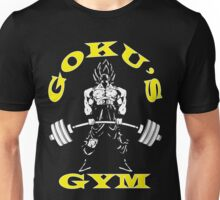Goku's Gym (Yellow and White) Unisex T-Shirt