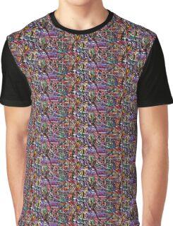 Graffiti Print Graphic T-Shirt