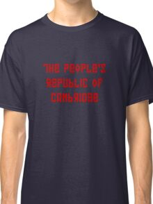 The People's Republic of Cambridge (red letters) Classic T-Shirt