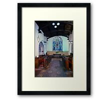 The Round Church, Cambridge Inside Framed Print
