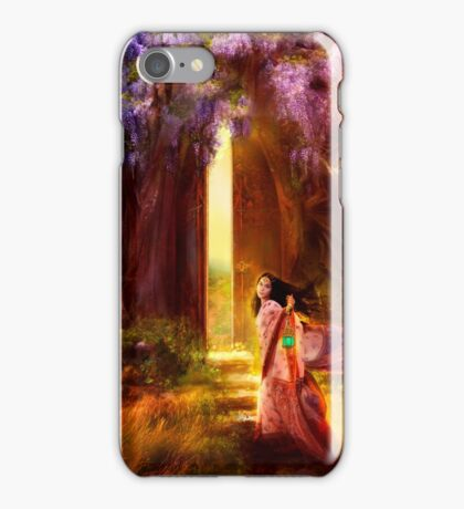 A Knock at the Door iPhone Case/Skin