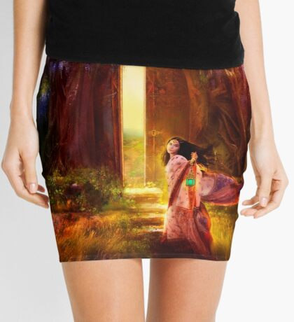 A Knock at the Door Mini Skirt