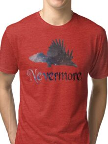 Quoth the Raven 'Nevermore' Tri-blend T-Shirt
