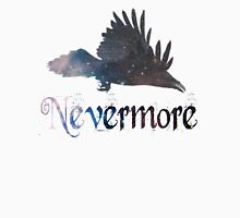 Quoth the Raven 'Nevermore' Womens Fitted T-Shirt