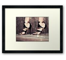 Under her feets Framed Print