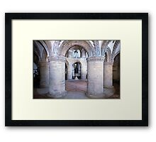 The Round Church, Cambridge Inside 2 Framed Print