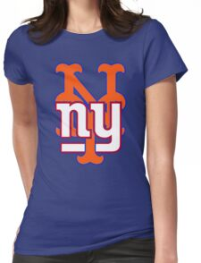 new york sports Womens Fitted T-Shirt