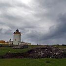 Eshaness Lighthouse by WatscapePhoto