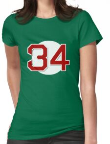 #34 Retired Womens Fitted T-Shirt