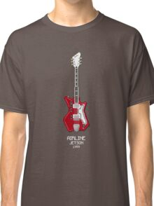 Pixel Art Airline Guitar Classic T-Shirt
