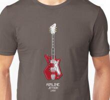 Pixel Art Airline Guitar Unisex T-Shirt