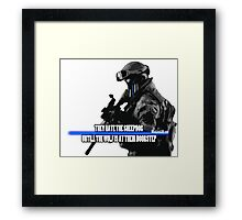 The Sheepdog LEO Framed Print