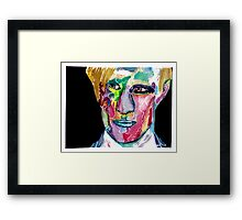 Eleventh Doctor / Matt Smith Framed Print