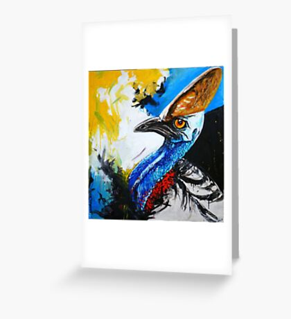 Cassowary Greeting Card