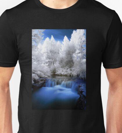 Kerosine creek in infrared 2 Unisex T-Shirt