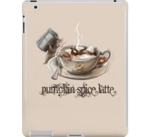 Pumpkin Spice Rats iPad Case/Skin