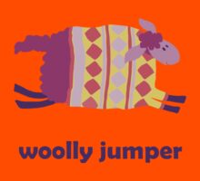 Woolly jumper! in pink and purple Kids Clothes