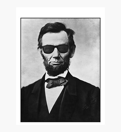 Lincoln's Way Photographic Print