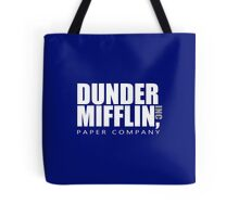 Dunder Mifflin - White Logo Tote Bag
