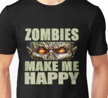 Zombie Happiness Unisex T-Shirt