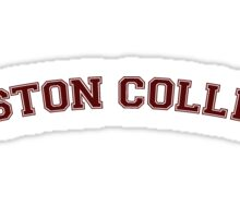 Boston College Sticker