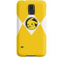 Yellow Poké Ranger Samsung Galaxy Case/Skin