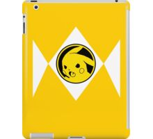 Yellow Poké Ranger iPad Case/Skin
