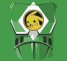 Yellow Poké Ranger - Movie Style Kids Clothes