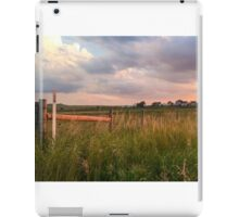 Country Roadside Sunset iPad Case/Skin