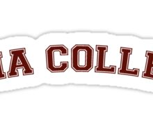 Iona College Sticker