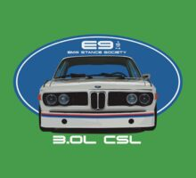 BMW E9 3.0L CSL by BSsociety