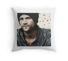Sam Winchester, birds Throw Pillow
