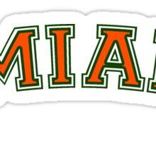 UMiami Sticker