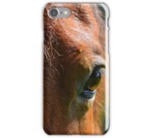 Look In The Eyes For Temperament iPhone Case/Skin