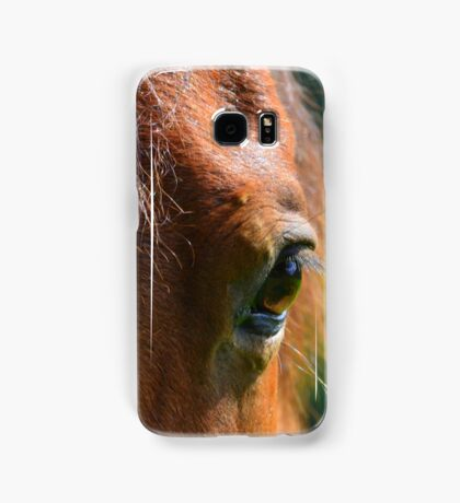 Look In The Eyes For Temperament Samsung Galaxy Case/Skin