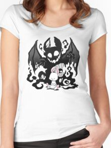 Beast Bunny Women's Fitted Scoop T-Shirt