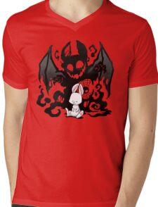 Beast Bunny Mens V-Neck T-Shirt