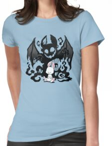 Beast Bunny Womens Fitted T-Shirt