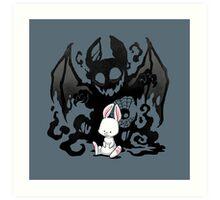 Beast Bunny Art Print