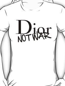 Dior Not War T-Shirt